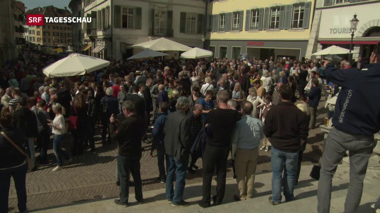 Bundesrat auf Besuch in Solothurn