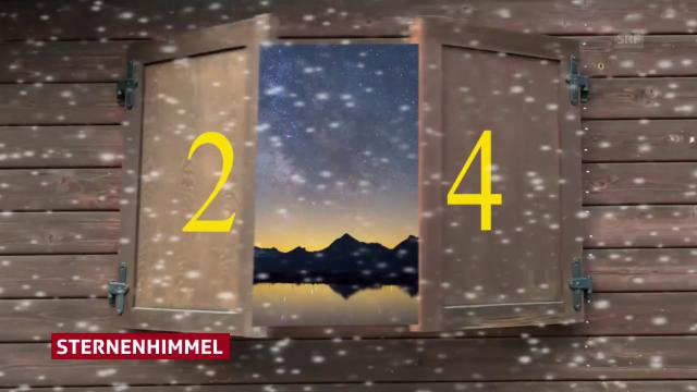 advent advent adventskalender tag 24 meteo srf. Black Bedroom Furniture Sets. Home Design Ideas