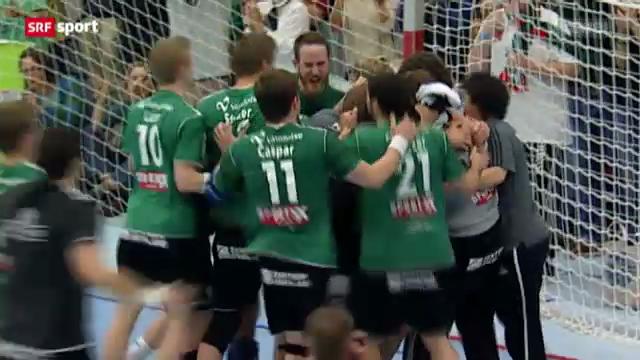 Handball: Wacker Thun - Kadetten Schaffhausen, Spiel 5