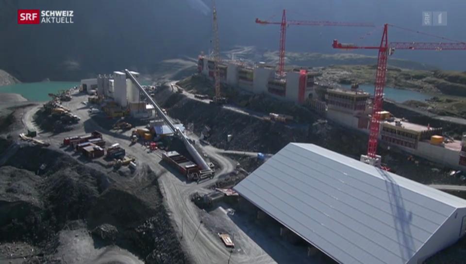 Unsichere Rendite beim Kraftwerk Linth-Limmern