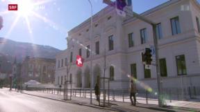 Video «Prozess gegen IS-Sympathisanten in Bellinzona» abspielen