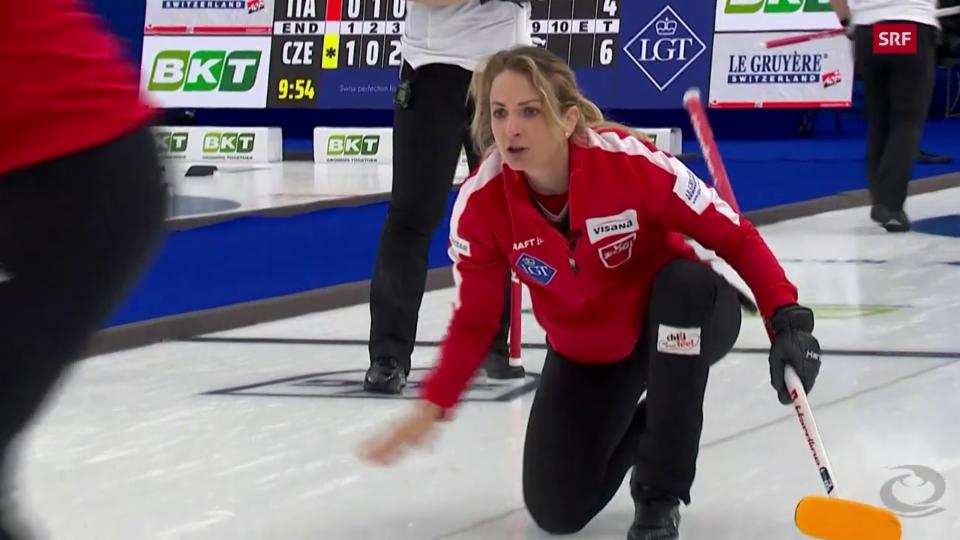 Schweizerinnen gelingt Auftakt in Curling-WM