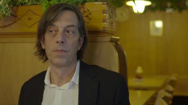 Video «Pedro Lenz in «Entweder/Oder»» abspielen