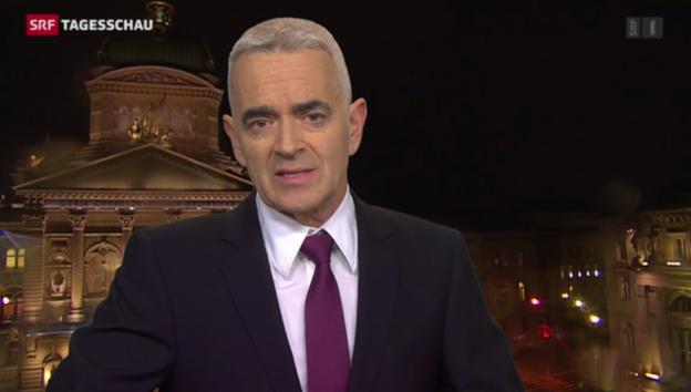Video «Einschätzungen Bundeshaus-Korrespondent Fritz Reimann» abspielen
