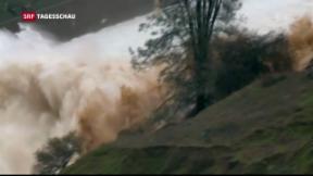 Video «Kalifornien fürchtet sich vor riesiger Flutwelle» abspielen