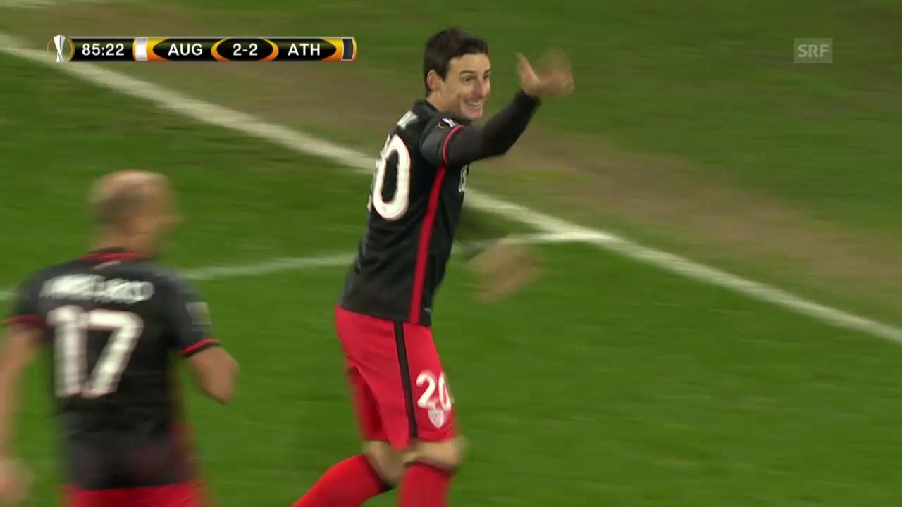 Fussball: Europa League, Augsburg – Athletic Bilbao