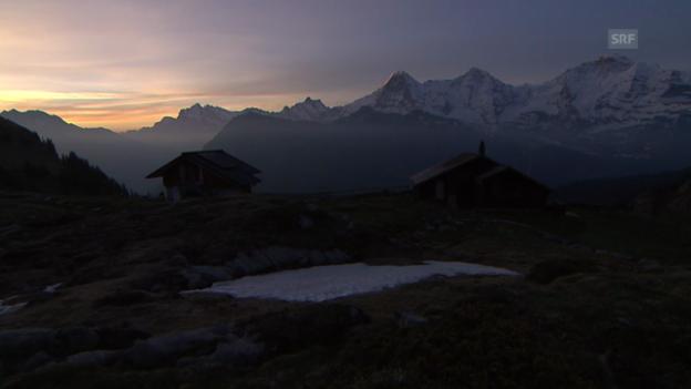 Video ««SRF bi de Lüt – Hüttengeschichten» 2014: Suls-Lobhornhütte» abspielen