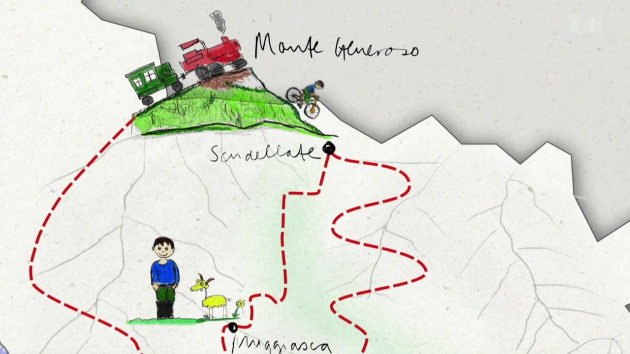 3. Tag: Muggiasca - Rociolo - Monte Generoso