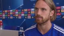 Video «Fussball: FCB-Verteidiger Lang vor den CL-Playoffs» abspielen