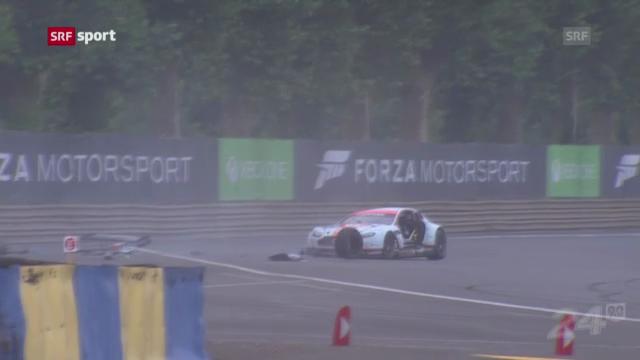Tödlicher Unfall in Le Mans («sportaktuell»)