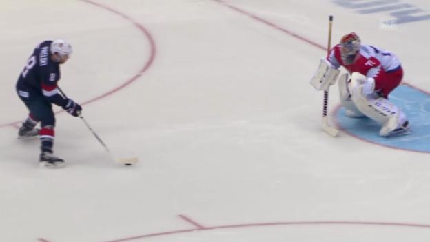Video «Eishockey: USA - Russland, Highlights (sotschi direkt, 15.02.2014)» abspielen