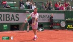 Video «Wawrinka auf Viertelfinalkurs» abspielen