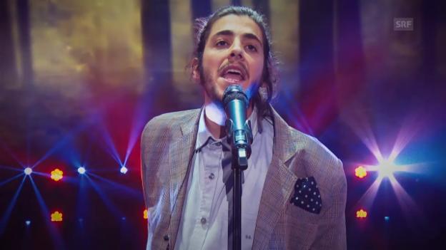 Video «Portugal - Salvador Sobral mit «Amor Pelos Dois»» abspielen