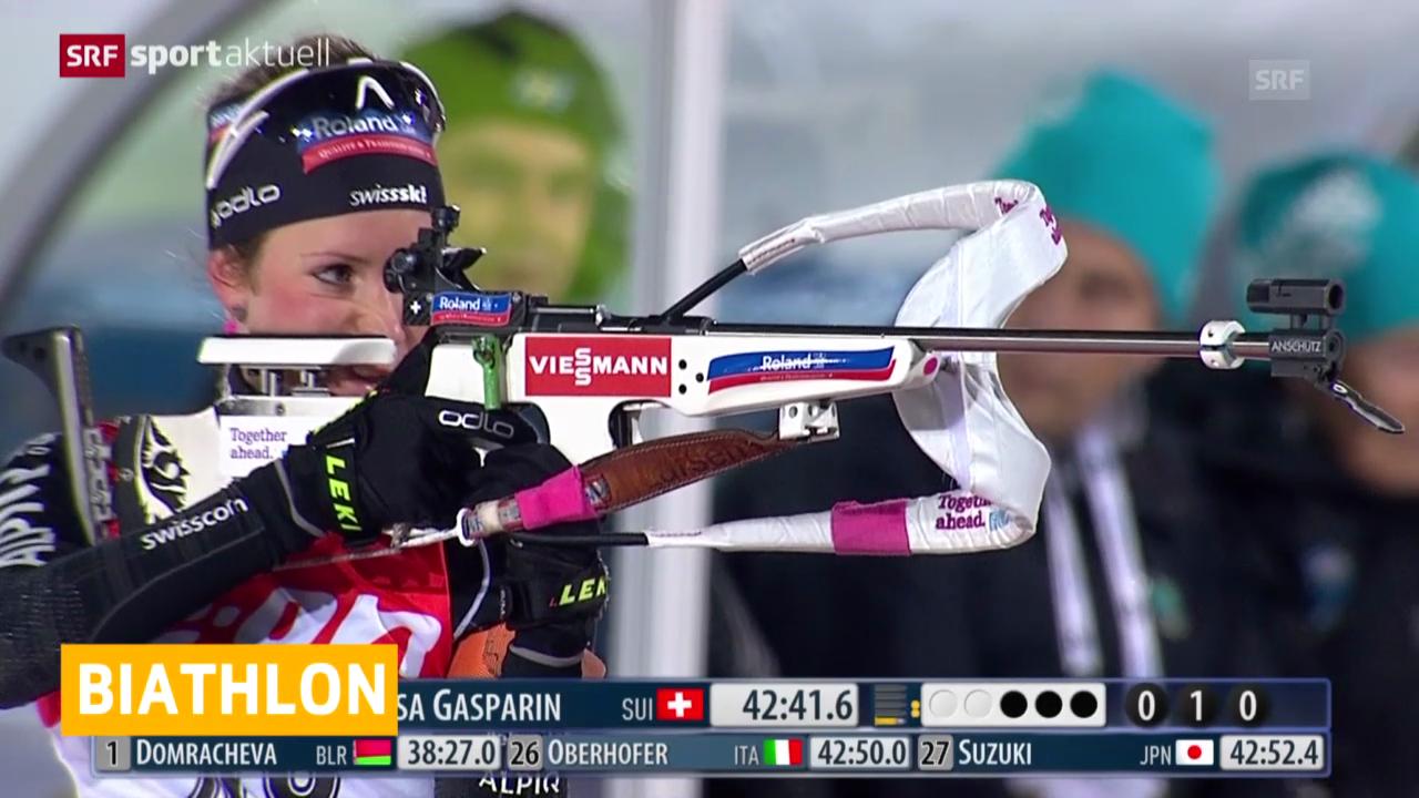 Biathlon: Weltcup Östersund, 15 km Frauen