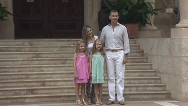 Video «Die spanischen Royals auf Mallorca (unkommentiert)» abspielen