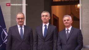 Video «Treffen mit NATO-Generalsekretär  » abspielen