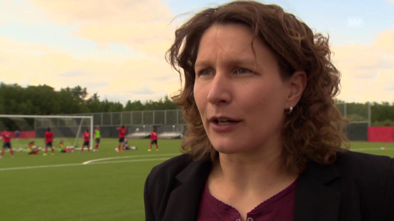 Fussball: Frauen WM in Kanada, SRF-Expertin Kathrin Lehmann im Interview