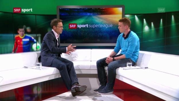 Video «Fabian Frei über Trainer Murat Yakin» abspielen