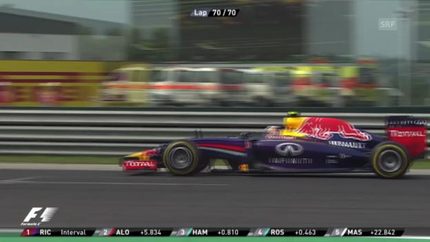 Video «Formel 1: Highlights GP Ungarn» abspielen