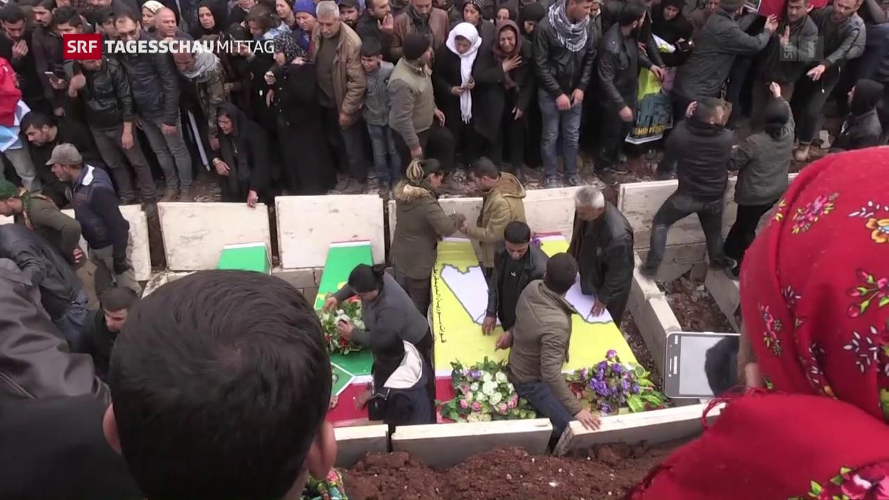 Leben und Sterben in Afrin