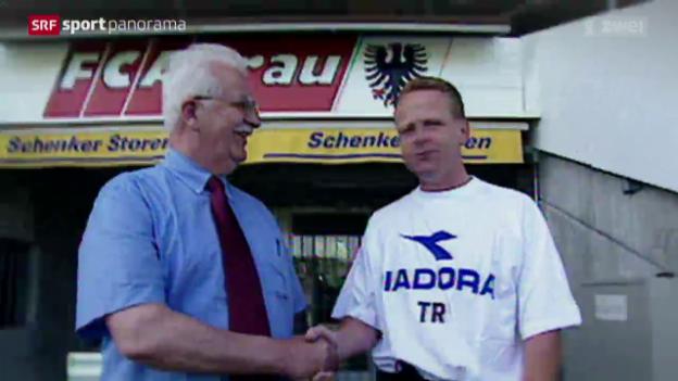 Video «Fussball: Die Trainerstationen von Rolf Fringer nach der Nati» abspielen
