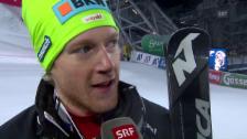 Video «Schmidiger: «Darf nicht jammern, wenn ich nicht an die WM kann»» abspielen