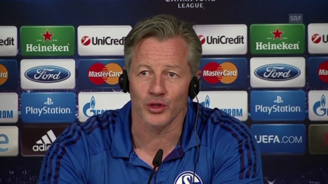 Jens Keller über Gegner Real Madrid (Quelle: SNTV)