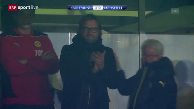 Video «Fussball: Dortmund - Marseille («sportlive»)» abspielen