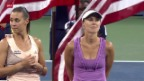 Video «Tennis: Hingis im US-Open-Doppel-Final» abspielen