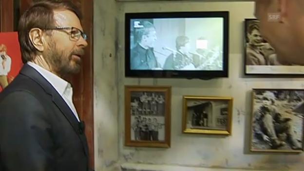 Video «Björn Ulvaeus zeigt «sein» Abba-Museum» abspielen