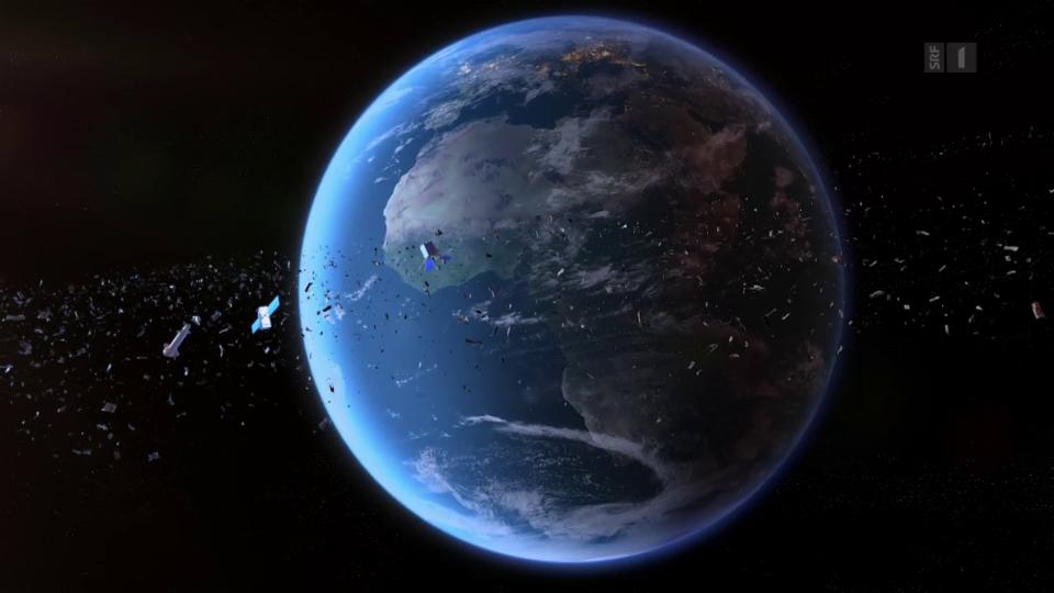 Gefahr Weltraumschrott: Wie der Abfall im All alle bedroht