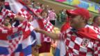 Video «Fan-Kuriosum: Ein Brasilianer fiebert mit Kroatien mit» abspielen