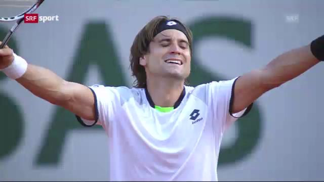 Halbfinal Ferrer - Tsonga («sportaktuell»)
