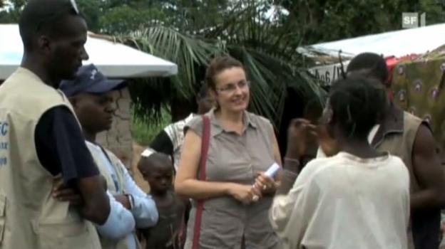 Video «Gefährliche Mission: Monika Brülhart im Kongo» abspielen