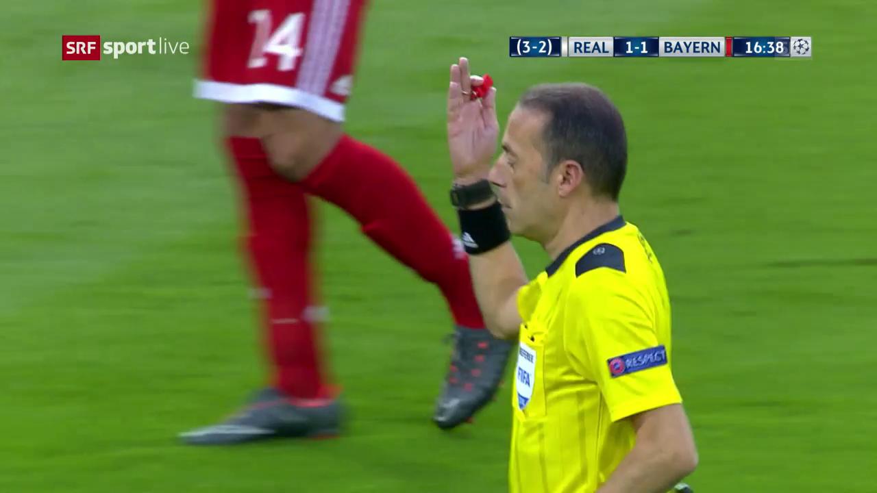 Penalty oder nicht? Bayern reklamieren zweimal Elfmeter