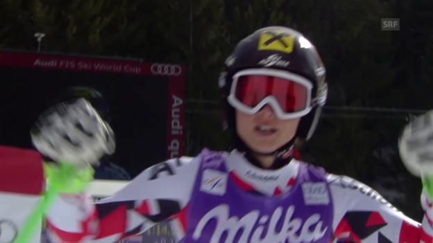 Video «Ski: Super-G Bansko, Zusammenfassung» abspielen