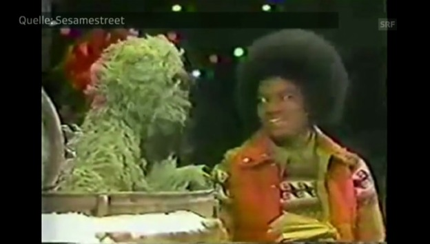 Video «Michael Jackson in jungen Jahren zu Besuch» abspielen