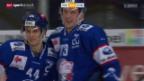 Video «Eishockey: ZSC Lions - EV Zug» abspielen