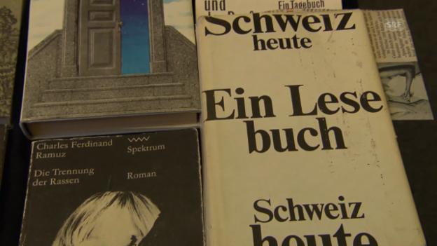 Video «Über Schweizer Literatur in Zensurakten und als Schmuggelware» abspielen