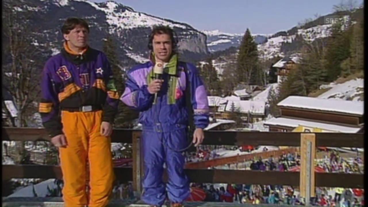 31 Jahre Matthias Hüppi und Bernhard Russi