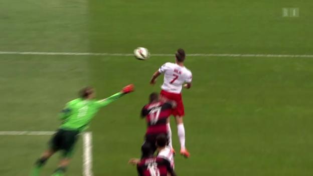 Video «Fussball: EM-Qualifikation, Polen-Deutschland» abspielen