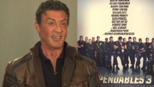 Video «Sly über Expandables 3» abspielen