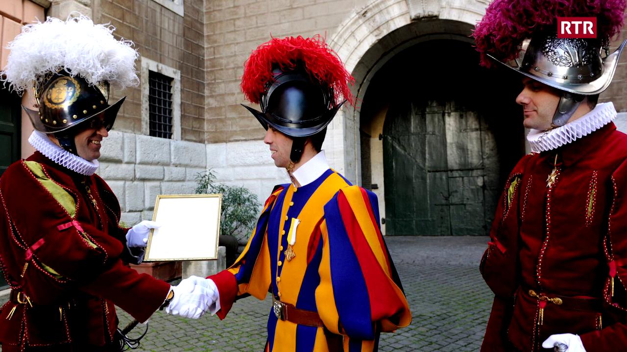 L'anteriur gardist papal Duri Coray