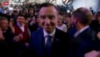 Video «Neuer Präsident für Polen» abspielen