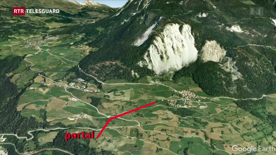 Proxim pass per franar il «Rutsch» da Brinzauls