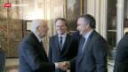 Video «Napolitano erneut Staatspräsident» abspielen