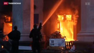 Video «Der Süden der Ukraine im Griff der Krise» abspielen