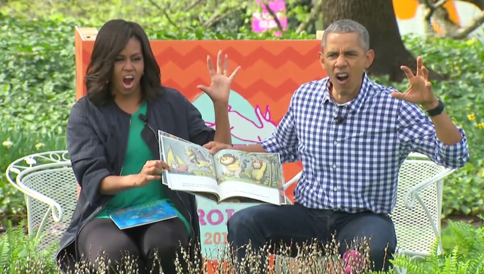 Obamas Ostern