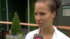 Video «Golubic: «Hatte mega Herzklopfen»» abspielen