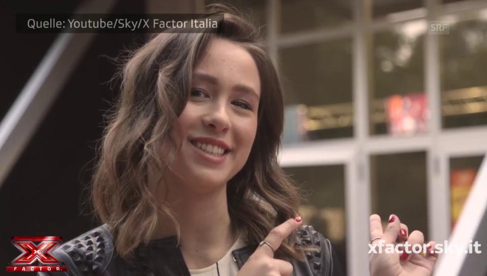 Aurora Ramazzottis Premiere bei «X Factor Italia»